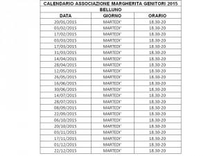 calendario incontri 2015